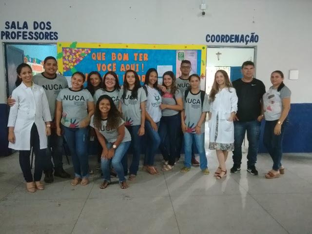 NUCA de Cocal realiza palestra sobre Gravidez na Adolescência em escola