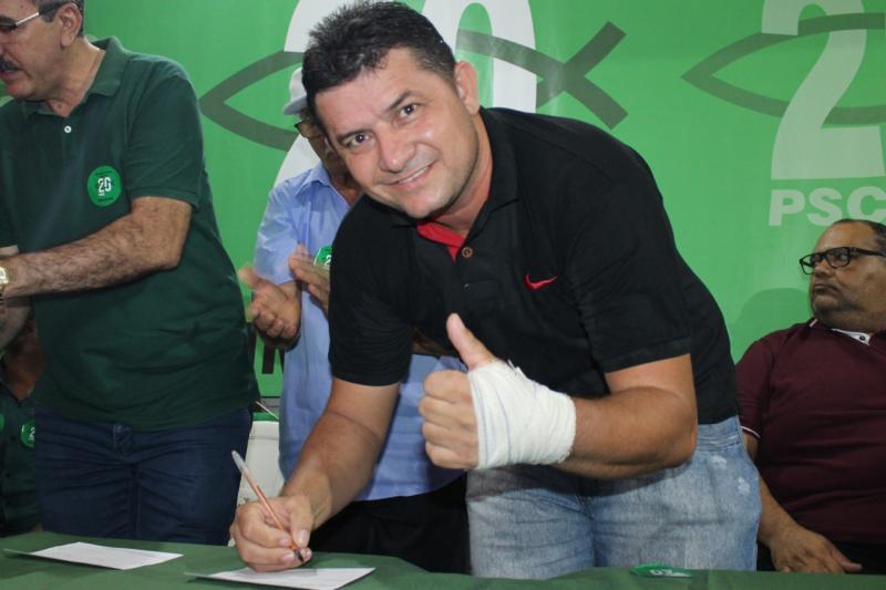 Suplente de vereador Jorge Passos se filia ao PSC