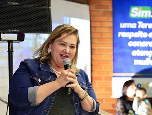 PSD oficializa pré-candidatura de Simone Pereira