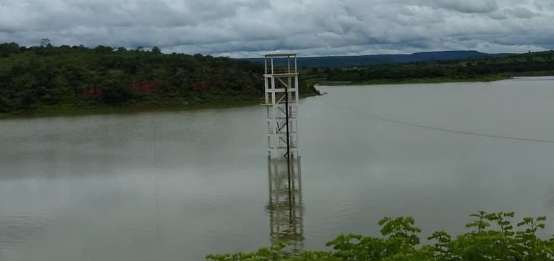 Barragem de Bocaina atinge 70% da sua capacidade
