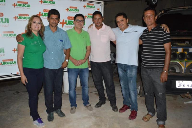 Zé Santana participa da 'Caravana + Uruçuí'