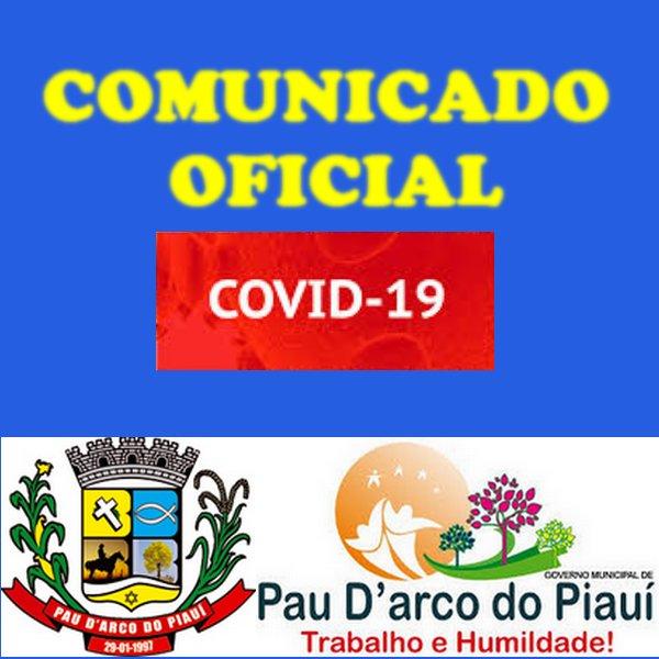 Prefeitura de Pau D'arco do PI suspende aulas devido ao Covid-19