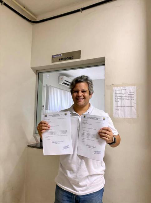 Miguel Leão | Prefeito Robertinho protocola dois novos projetos para cidade