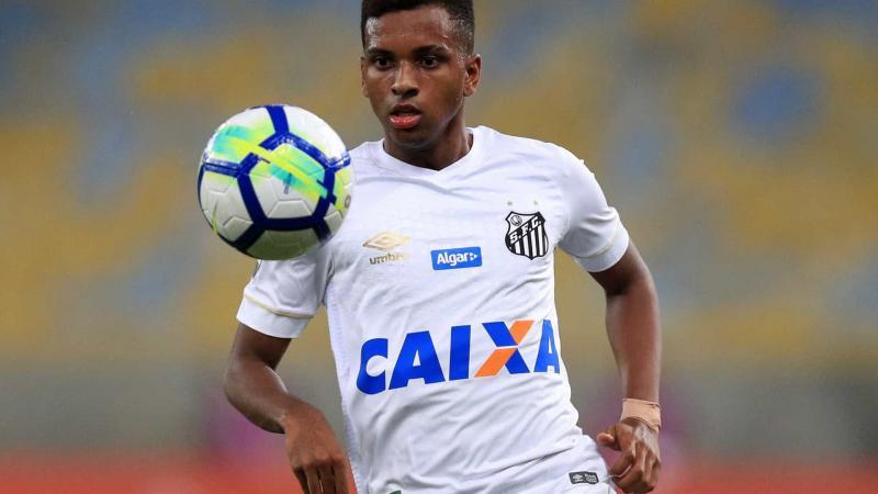 Santos lucra R$ 23,5 milhões com venda de Rodrygo