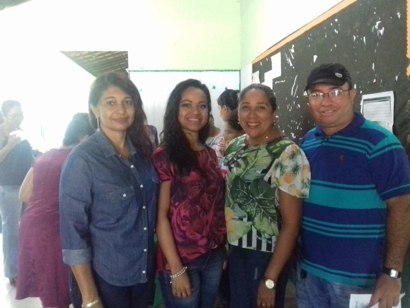 Professores da rede estadual de Demerval Lobão participam de reunião com Supervisor de Ensino
