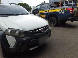 PRF recupera em Teresina carro roubado em Brasília