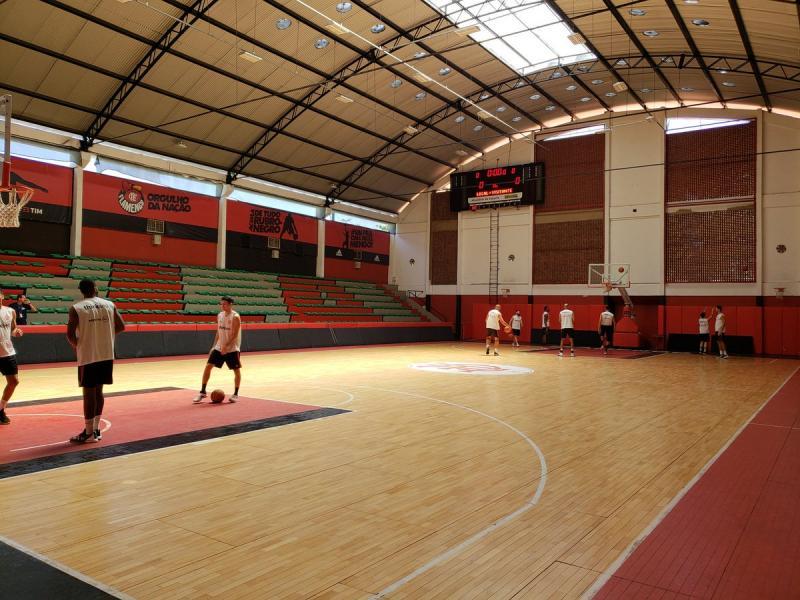 Flamengo disponibiliza ginásio para ações de combate ao coronavírus
