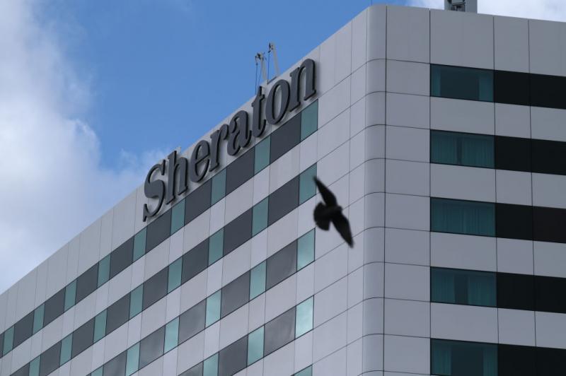 S heraton: rede de hotéis registrou taxa de ocupação de 7% em São Paulo (Yuriko Nakao/Getty Images)