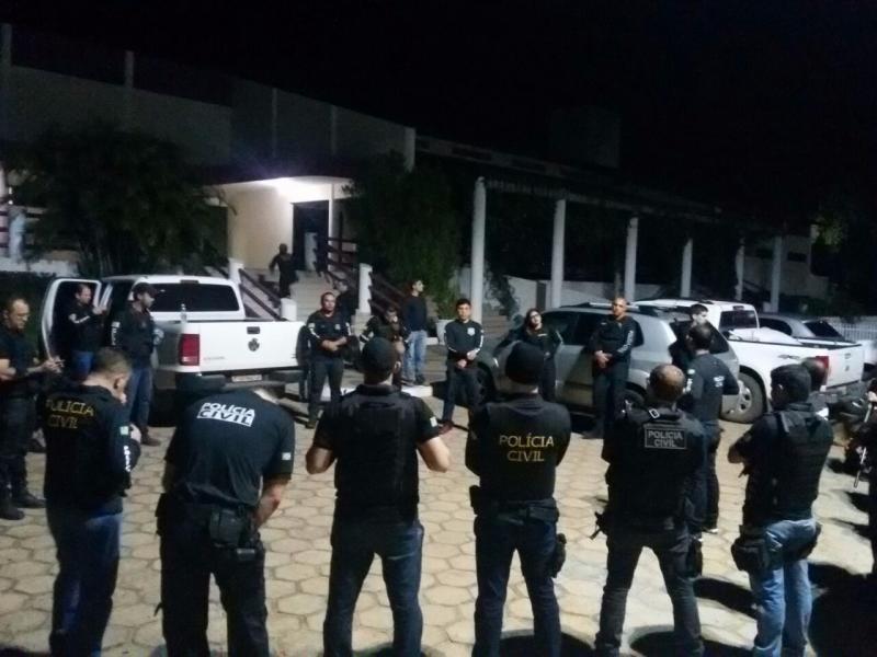 Polícia Civil em Bom Jesus prende 16 pessoas no combate ao tráfico de drogas