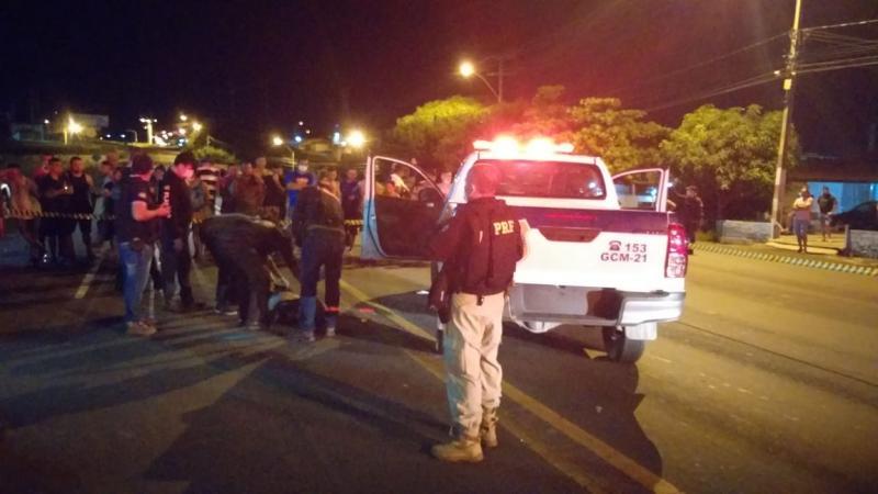 Homem é morto após tentar roubar viatura da Guarda Municipal