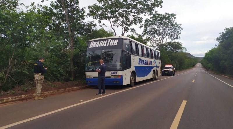 PRF intensifica fiscalização em ônibus que chegam de outros estados
