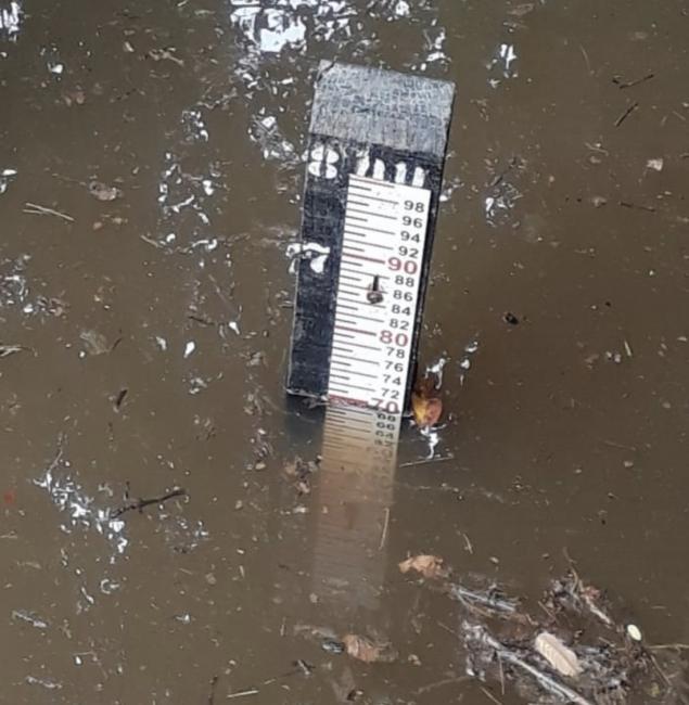 Nível do Rio Longá volta subir e preocupa famílias em Esperantina