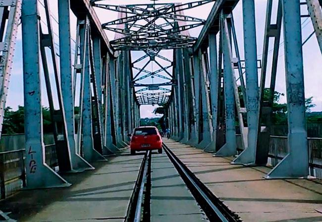 Tráfego na Ponte Metálica é liberado pela Prefeitura de Timon