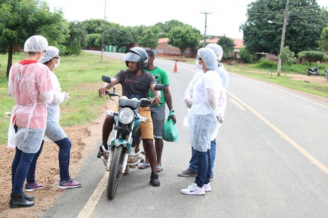 Francinópolis instala barreiras sanitárias educativas contra coronavírus