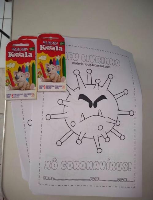 Amarante | Prefeitura distribui material lúdico as crianças sobre Covid-19