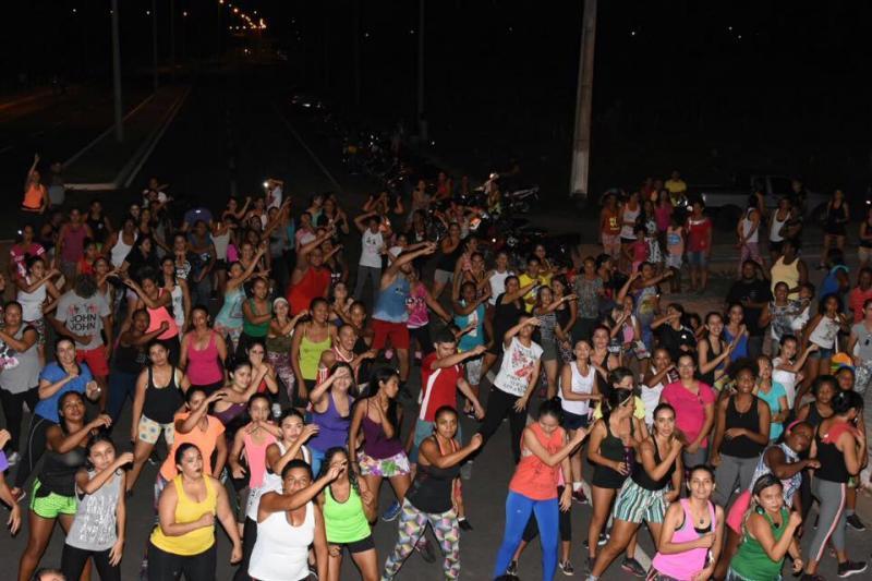 II Aulão de Carnaval reúne foliões na Avenida Beira Rio