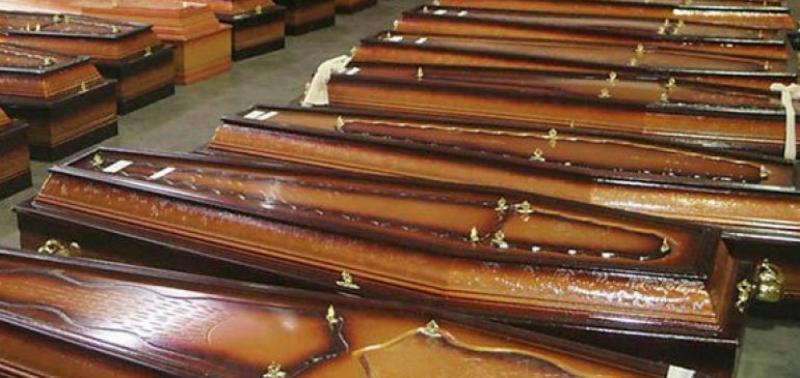 Funerária recebe 73 corpos em apenas 72 horas e caso é investigado