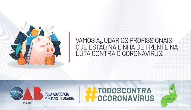 Campanha arrecada fundos para o combate ao Coronavírus no Piauí