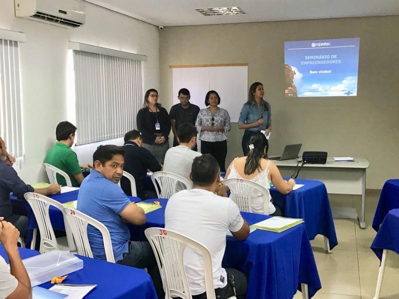 Inicia o IV Seminário EMPRETEC em Uruçuí