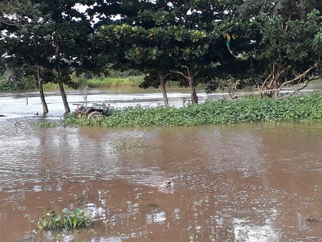 Rio Igaraçu transborda e afeta comunidades no litoral do Piauí