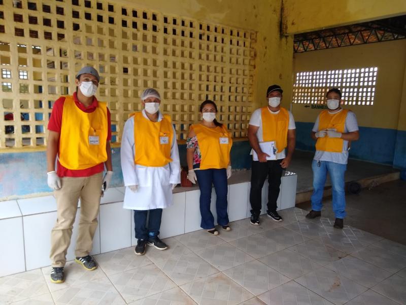 Vigilância Sanitária de Colônia do Gurgueia no combate ao coronavírus