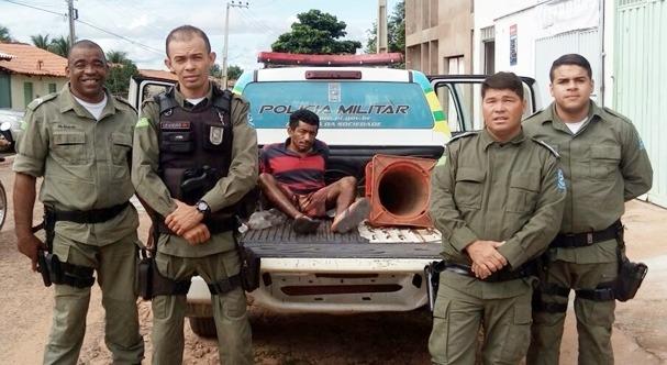 Homem é preso em Gilbués por tentativa de homicídio contra a ex-companheira