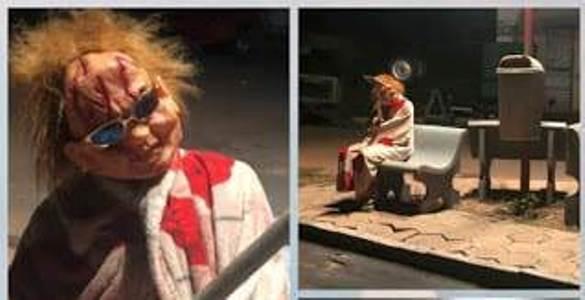 Inusitado: 'Chucky, o Boneco Assassino' afugenta pessoas das ruas no MA