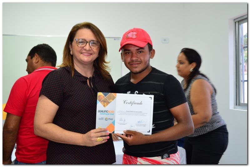 Semtac entrega certificado aos novos construtores civis do município