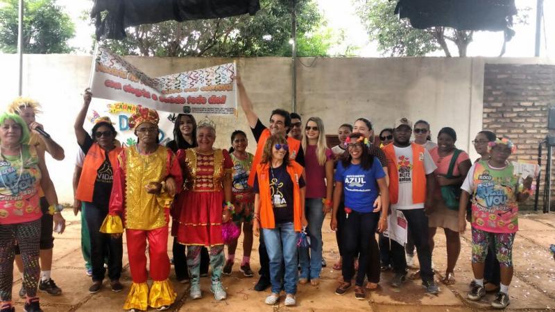 Prefeitura municipal realiza carnaval dos idosos em Nazária
