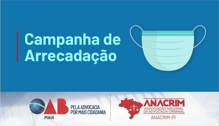 OAB e ANACRIM realizam campanha de arrecadação de materiais para confecção