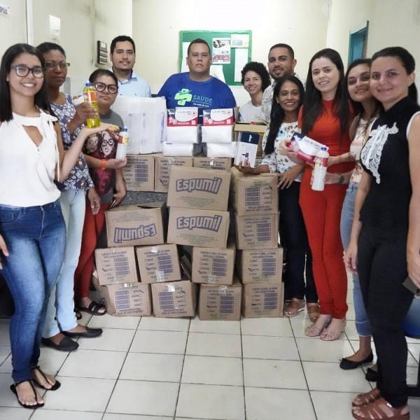 UFPI, IFPI, UESPI e FAESF fazem doações para a Sec.de Saúde de Floriano