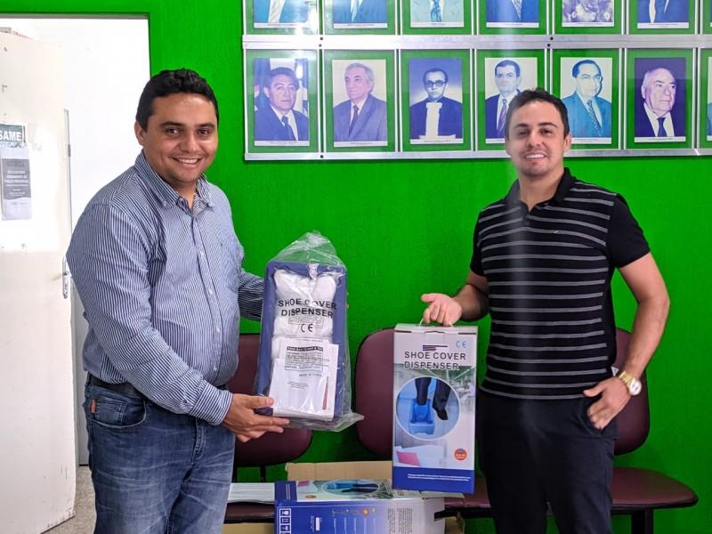 Secretaria de Saúde partilha doação com o Hospital Tibério Nunes