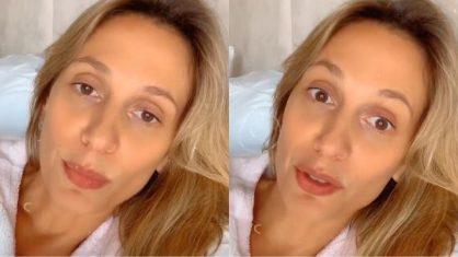 Luisa Mell pede orações para marido: 'Ele não está melhorando'