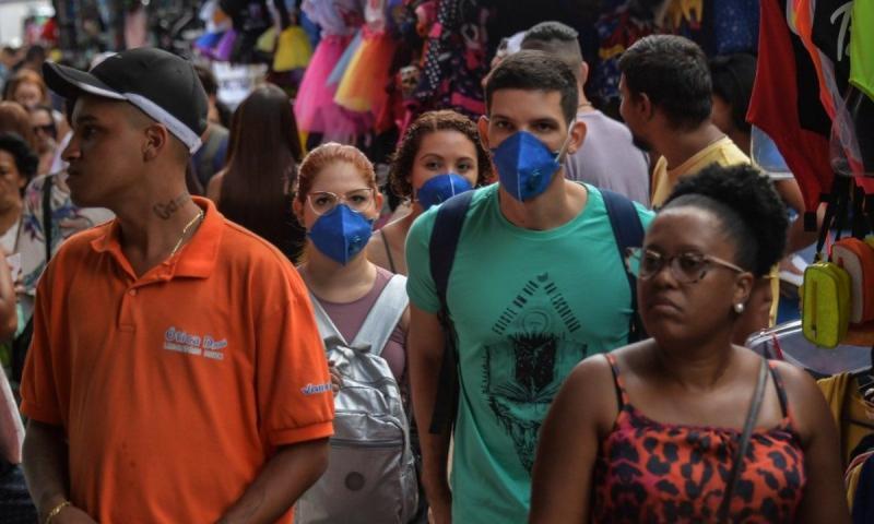 Brasil registra 77 mortes por coronavírus