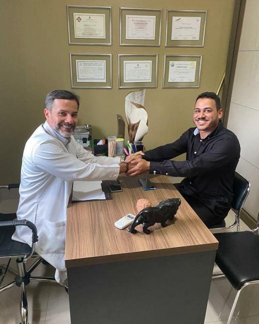 Vereador Henrique Guerra se reúne com Dr Cláudio Máximo Guerra