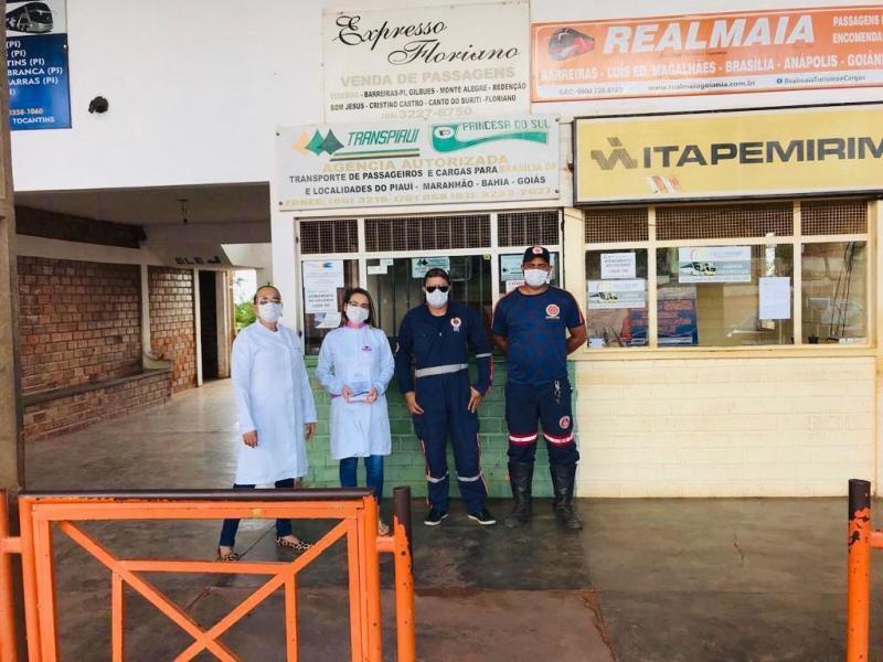 Profissionais da saúde de Gilbués fazem ação informativa no município