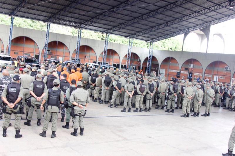 Tropas começam a ser enviadas para fazer segurança no interior do Piauí
