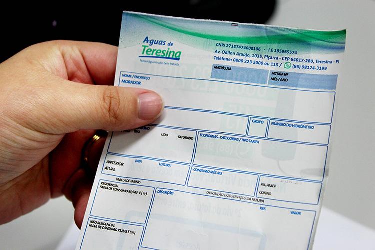 Águas de Teresina receberá pagamentos com cartão de crédito