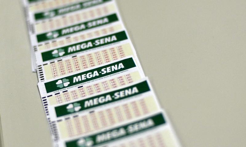 Mega-Sena sorteará hoje prêmio de R$ 2,5 milhões