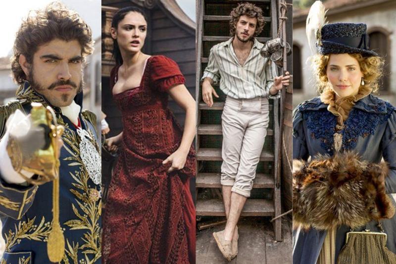 Novela 'Novo Mundo' retorna à programação da Globo nesta segunda