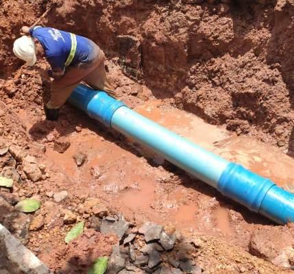 Águas de Timon finaliza manutenção emergencial em adutora