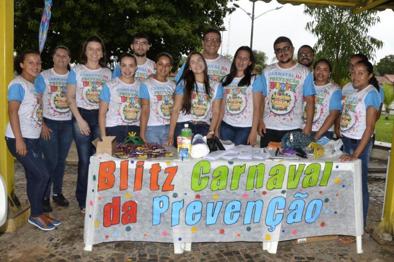Saúde de Água Branca realiza campanha Carnaval da Prevenção