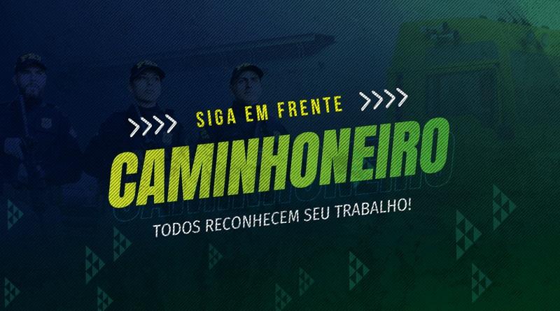 """PRF realiza campanha """"Siga em Frente, Caminhoneiro"""""""