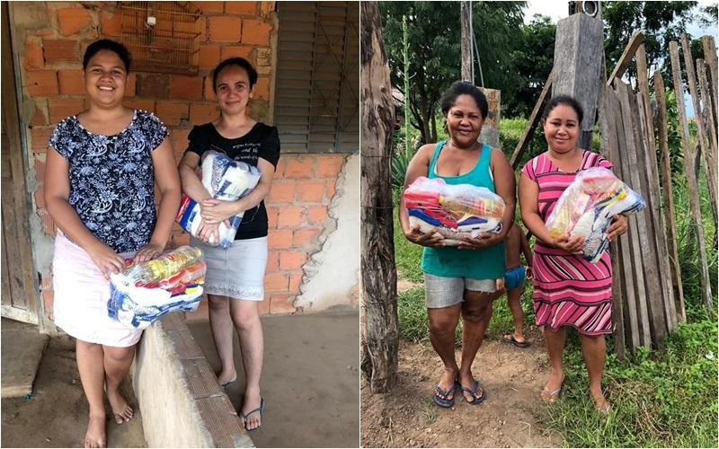 Prefeitura realiza entrega de cestas básicas em Miguel Leão