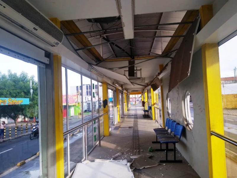 Cinco estações de passageiros de Teresina são alvos de furtos
