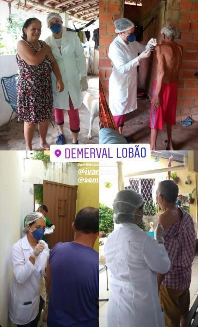 Campanha Gripe | Idosos recebem vacina no domicílio