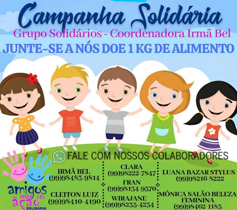 Será realizada campanha solidária da associação amigos da Irmã bel