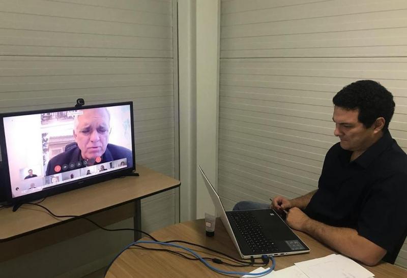 Videoconferência do Comitê Estadual de Organização de Emergência