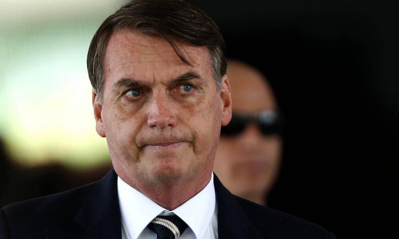 Imprensa deixa entrevista com Bolsonaro após xingamentos