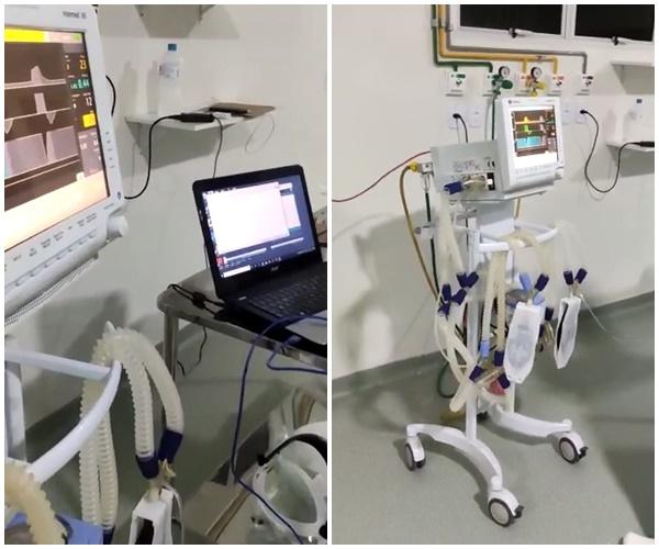 Grupo de pesquisadores da UFPI criam adaptação de ventilador mecânico